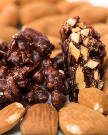 Les  Grignotines chocolat noir