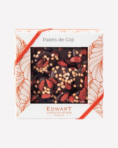Les Palets de Goji chocolat noir