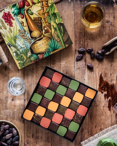 Coffret Chocolats & Spiritueux