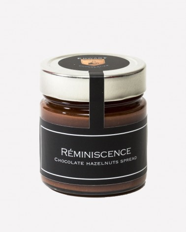 "Pâte à tartiner chocolat & noisettes ""Réminiscence"""