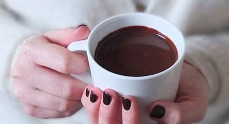 Chocolat Chaud et Couverture