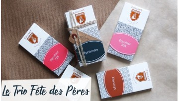 Trio de tablettes pour papas gourmands